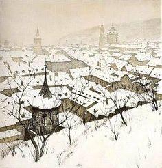 Czech Artist T.F.Simon.