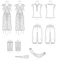 McCall's - 7421 kostuum
