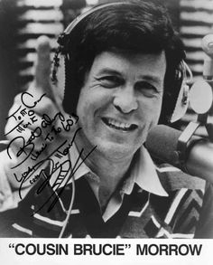 Cousin Brucie, born Bruce Meyerowitz in Brooklyn on October 13, 1935, is STILL working as a disk jockey. Description from hhhsclassof65.com. I searched for this on bing.com/images