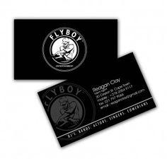 Fly Boy Business Card Design