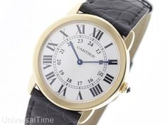 US $4,250.00 New without tags in Jewelry & Watches, Watches, Wristwatches #luxury #watch #luxurywatch #cartier #gold #universaltime
