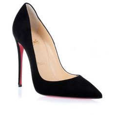 Christian Louboutin So Kate 120 black suede pump