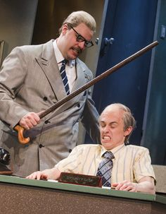 The Comedy about a Bank Robbery review at Criterion Theatre, London – 'ambitious and surprising'