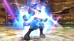 Lucario confirmed for Super Smash Bros. Wii U.