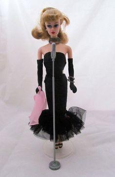 VINTAGE BARBIE SOLO In The SPOTLIGHT 1960 REPRODUCTION De Boxed FASHION Mattel