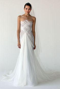 Brides: Marchesa - Fall 2012 | Bridal Runway Shows | Wedding Dresses and Style | Brides.com