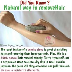 "beauty facts on Instagram: ""Follow @beauty_fact_s For more natural remedies & beautys tips.  Hair removal  Soften your skin in warm water for 5 to 10 minutes.  Wet…"" Beauty Tips For Glowing Skin, Health And Beauty Tips, Beauty Skin, Face Beauty, Health Tips, Hair Removal Remedies, Skin Care Remedies, Natural Remedies, Hair Removal Diy"
