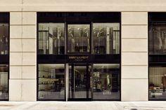 Saint Laurent Store Goldenes Quartier Vienna Yves Saint Laurent, Saint Laurent Store, Architecture Interiors, Vienna, Saints
