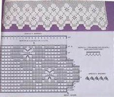 Diy Crafts - Women Vest Cone Pattern New Knitting Design Free Crochet Cord, Crochet Towel, Crochet Lace Edging, Crochet Leaves, Crochet Motifs, Crochet Borders, Thread Crochet, Crochet Trim, Crochet Stitches