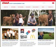 Dairy.org Website - Shocase