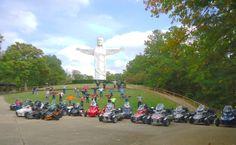 Branson MOGang Ride at Christ of the Ozarks in Eureka Springs Eureka Springs, Missouri, Cuba, Christ, Motorcycles, Motorbikes, Motorcycle, Choppers, Crotch Rockets