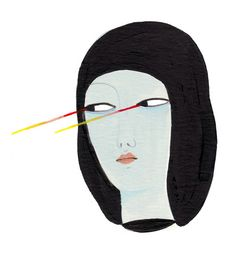 Lazer Eyes by Irana Douer. the look that every woman can give...