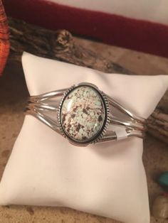Dry Creek Turquoise & Sterling Silver Bracelet Signed