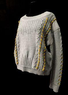 Designer: Pierangeli Mendez Rosario: knitGrandeur: FIT & Baruffa 2/30s Cashwool Collaboration 2016: Term Garment Project