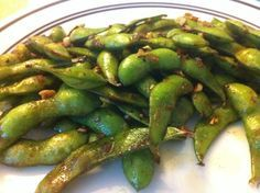 How to Cook Butter and Garlic Edamame- Making this now!