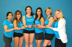 Here they are ... our great Instructors (just missing one fabulous lady Kimmy missed you).  Raquel, Joni, Cassandra, Harp, Jen & Sarah!
