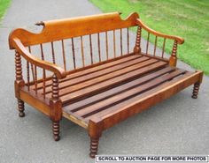 love this antique daybed