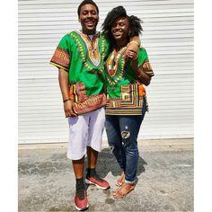 Green African Dashiki Shirt Only $15