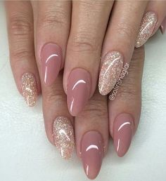 Glitter with Taupe Neutral