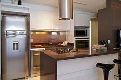 pastilha parede metalizada cozinha - Pesquisa Google