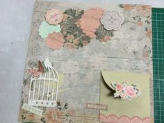 My first ever scrapbook page layout