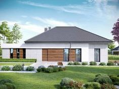 Wizualizacja CPT HomeKONCEPT-31 CE Villa Design, House Design, Design Case, My House, Gazebo, Shed, Outdoor Structures, Outdoor Decor, Modern