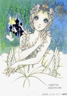 Odette, Swan Lake, Makoto Takahashi, can't find the art book of origin for this piece.