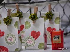 stampin with beemybear - Mini-TicTac-Verpackung, StampinUp, Work of Art