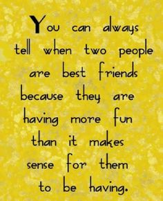 Best Friends Quote