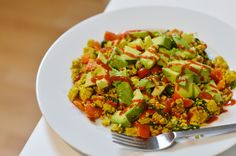 Vegan Tofu Scramble Rührtofu