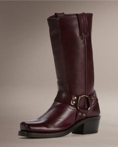 Frye Women's Harness 12R Boot - Plum