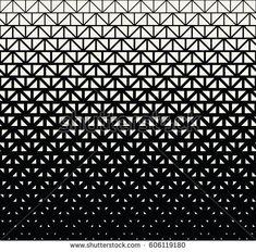 geometric halftone triangle minimal graphic vector pattern
