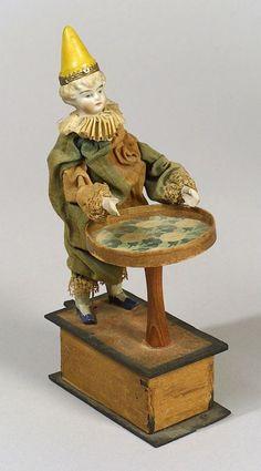 LEVER-OPERATED MAGICIAN AUTOMATON, CIRCA 1890, - SCI & TECH/ TOYS & DOLLS - SALE 2283 - LOT 127 - Skinner Inc