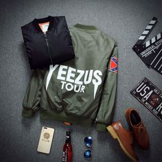 ROYEW winter mens jackets coats bape MA1 Bomber jacket KANYE WEST YEEZUS jackets Sport Suit Parkas mens hip hop coats streetwear-in Jackets from Men's Clothing & Accessories on Aliexpress.com   Alibaba Group