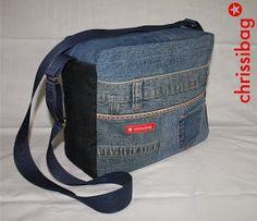 chrissibag: Cleo - Umhängetasche in Jeans