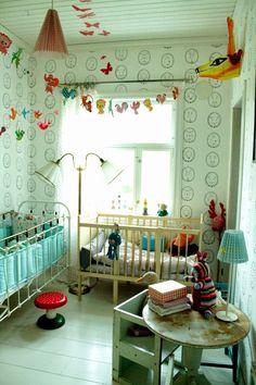 Valmis lastenhuone