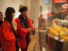 "The six ""Ramen Exchange Students"" In CUPNOODLES MUSEUM. #ramen #japan #asean #SoutheastAsia #jnto"