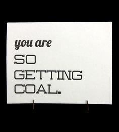 Getting Coal