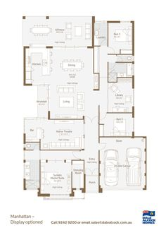 Manhattan Floorplan