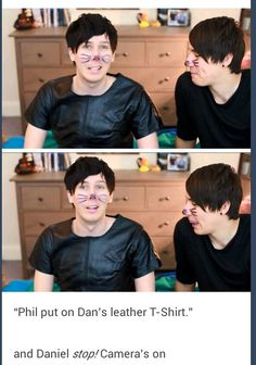 Well... the proof is all there! #PHANISREAL