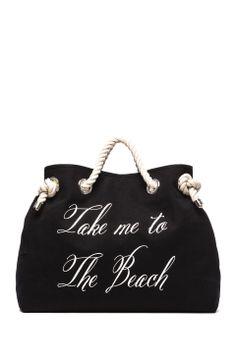 Take me to The Beach/Bel Air Reversible Tote