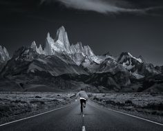 Jimmy skating the most epic road in the world, Patagonia