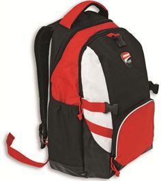 5300868962a38 Ducati Corse Back Pack Backpack Red Black White with Helmet carrier Best  Camping Gear