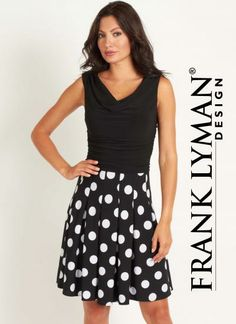 Frank Lyman Dress-available at The Kawartha Store, Fenelon Falls, On
