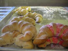 I need a recipe for THESE! They're called cuernos or cuernitos. They're a Mexican sweet bread. I can't find one anywhere!