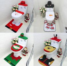 Diy Christmas Videos, Christmas Room, Simple Christmas, Christmas Crafts, Country Christmas Decorations, Xmas Decorations, Holiday Decor, Decor Crafts, Bathroom Mat