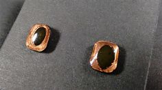 earrings made of circuit boards, upcycling, sterling silver