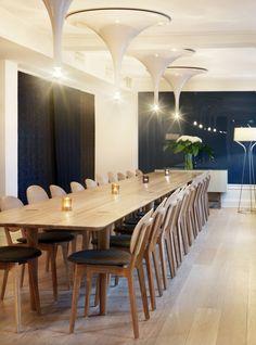The Dining area at Hotel Skeppsholmen in Stockholm