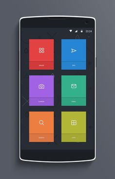 Volt-menu | UI Mobile | Pinterest