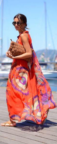 breezy,Destiny,Draped Maxi Dress